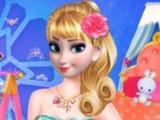 Elsas New Dressing Room game