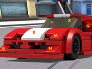 Lego Cars Hidden Letters game