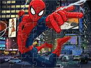 Spiderman Jigsaw game