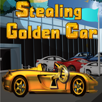 Stealing The Golden Car game