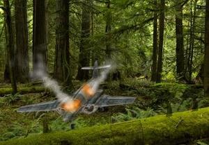 play Plane Crashed Forest Escape
