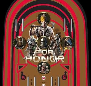 play For Honor Pinball