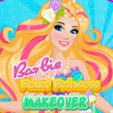play Barbie Pearl Princess Makeover