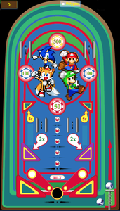 Mario & Sonic game