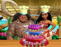 Moana Delicious Cake game