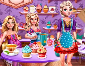play Princesses Tea Afternoon