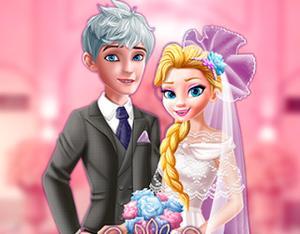 Elsa The Snow Queen: Vintage Wedding