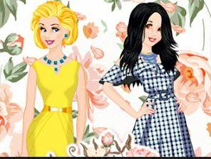 Princesses Flower Show game