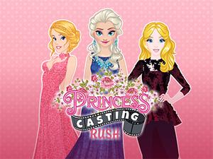 play Princesses Casting Rush