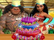 play Moana Delicious Cake