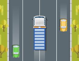 Truck Traffic game