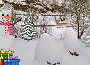 Winter Forest Escape game