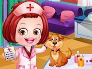 Baby Hazel Veterinarian Dressup game