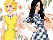 Princesses Flower Show game