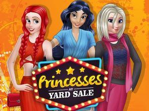 Princesses At Yard Sale game