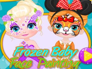Frozen Baby Face Painting game