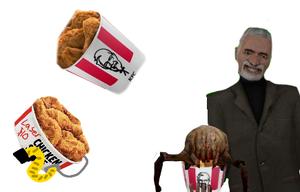Half-Life 2 Headcrab - Colonel Sanders??? game