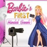 play Barbie'S First Model Book