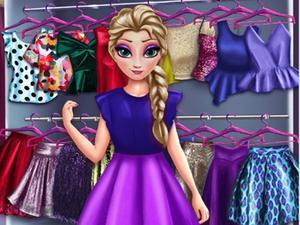play Frozen Princess Wardrobe