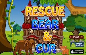 play Rescue Bear And Cub Escape