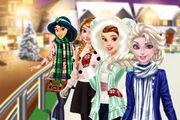 play Princesses Go Ice Skating Girl