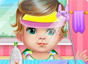 Baby Care And Make Up game