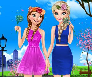 play Sisters Spring Day