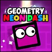 play Geometry Neon Dash