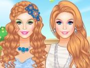play Barbie A Spring Fairytale