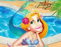 play Rapunzel Sweet Vacation