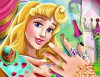play Sleeping Princess Nails Spa