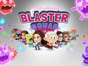 Nickelodeon Blaster Sqaud Action game