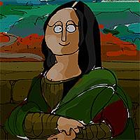play Famous Paintings Parodies 9
