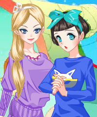 play The Lost Color Dress Up Game