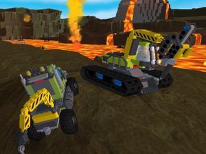 play Lego City Volcano