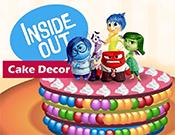 play Inside Out Cake Decor