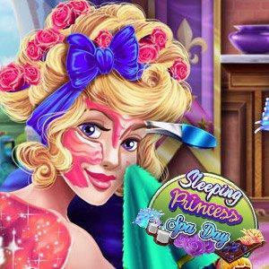 play Sleeping Princess Spa Day
