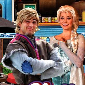 play Frozen Food Shop