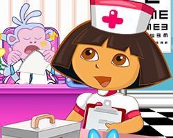 Dora Nurse Slacking