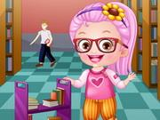 play Baby Hazel Librarian Dressup