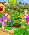 play Sofia And Amber Gardening