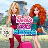 play Barbie Visits Merida