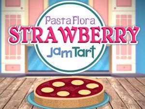 play Pasta Flora Strawberry Jam Tart