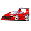 Cool Little Red Racing Car game