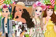 play Moana'S Garden Party Girl