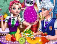 Princesses Organic Shop game