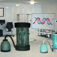 play Genetic Research Center Escape