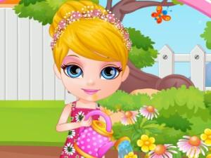 Baby Barbie Allergy Attack game