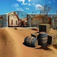 play Can You Escape Desert House
