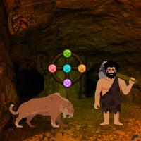 play Paleolithic Man Escape